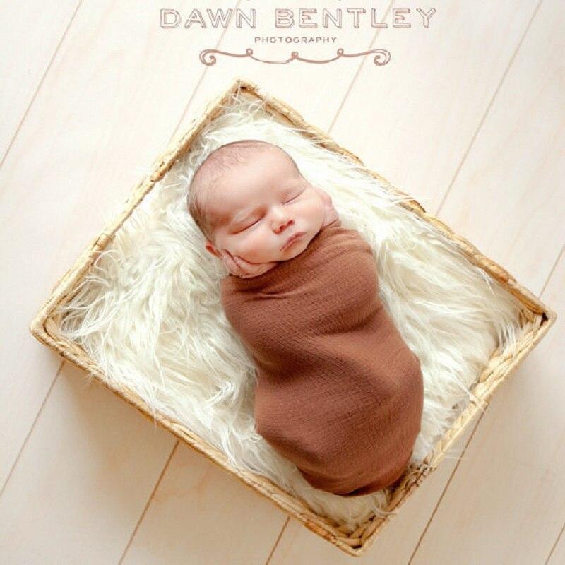Bont Baby Ontvangen Dekens 50*60 Cm Pasgeboren Fotografie Prop Tapijt Meisjes Inbakeren Handdoek Baby Slapen Kussen Kamer Tapijt Zachte Mooi En Kleurrijk