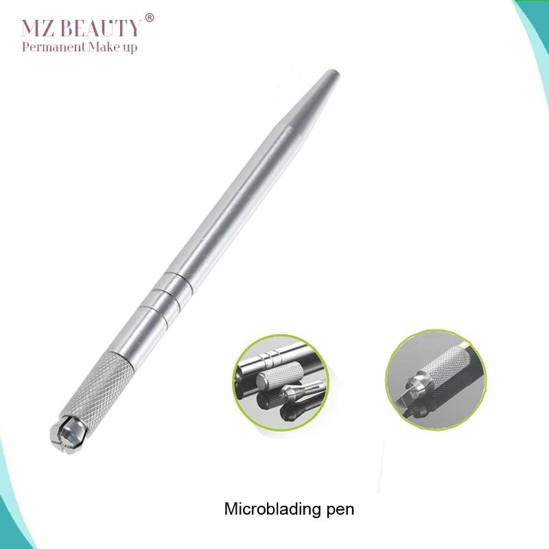 Pluma dorada Tebori Pen Microblading máquina de tatuaje para el - Tatuaje y arte corporal - foto 2
