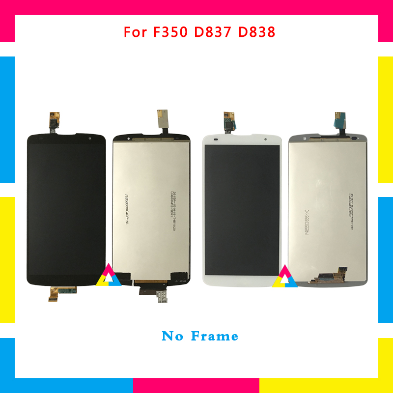 5pcs LCD Display Screen With Touch Screen Digitizer Assembly For LG Optimus G Pro 2 F350 D837 D838 No Frame or with Frame DHL5pcs LCD Display Screen With Touch Screen Digitizer Assembly For LG Optimus G Pro 2 F350 D837 D838 No Frame or with Frame DHL