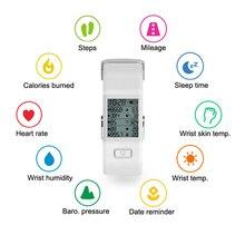 Mejor precio 2016 Deportes Banda Inteligente Hesvit S3 Inteligente Pulsera SmartBand Inteligente Muñequera Rastreador De Fitness Deportes Monitor de Ritmo Cardíaco