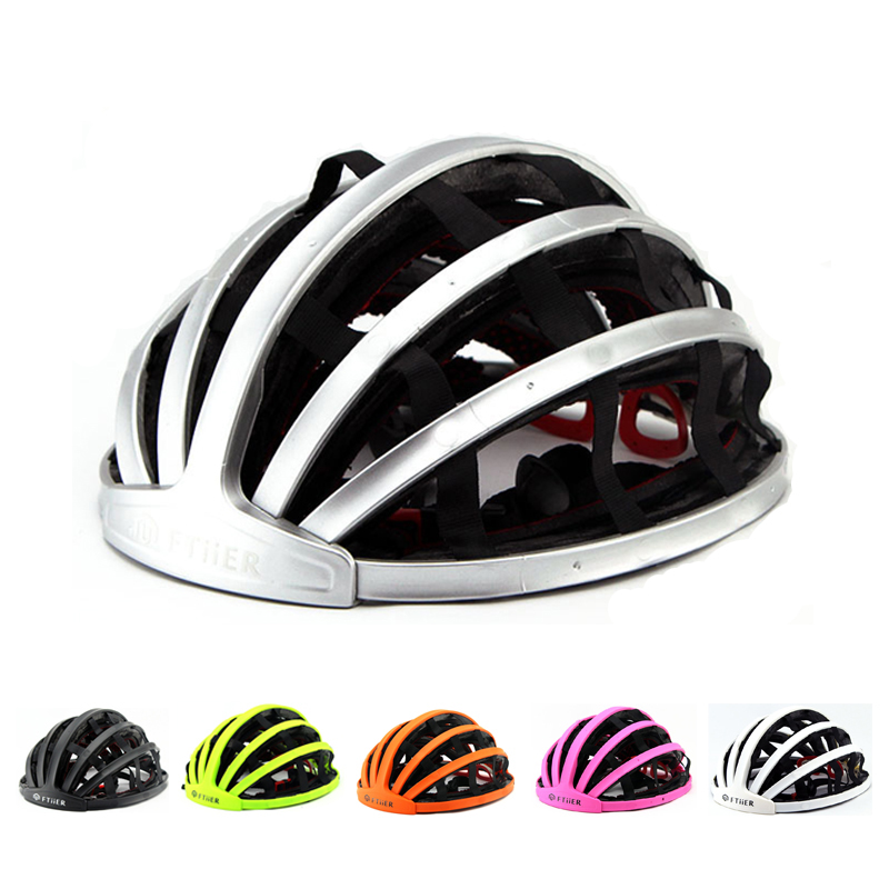 Novo dobrável ciclismo capacete portabel ultraleve capacete da bicicleta de estrada unisex capacete adulto montanha capacete
