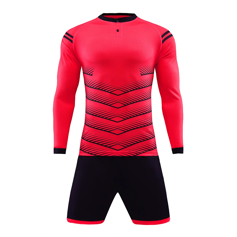 61990250105 Cool Men Long Sleeve Soccer Jersey Kits Breathable Quick drying Sports  jerseys Football Competition Team Uniforms Training Suit-in Soccer Sets  from Sports ...