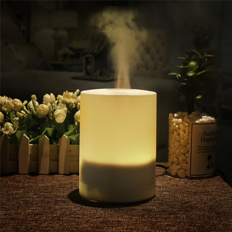 250Ml Electric Aroma Essential Oil Diffuser With Dreamlike Warm Color LED Light Ultrasonic Technology Air Humidifier Super Quiet Air Purifier
