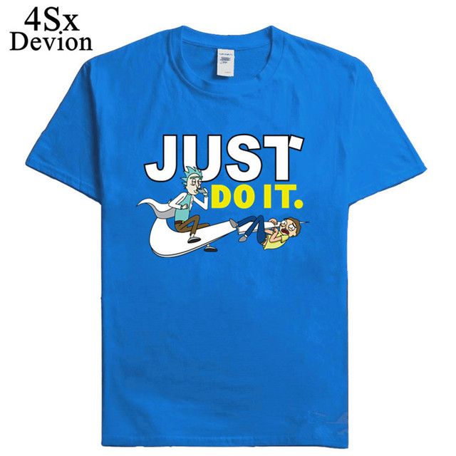 2018 New Fashion 3D cartoon T-shirt Brand Clothing Hip Hop Letter Print Men T Shirt Short Sleeve Anime High Quality Men clothing