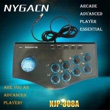 NYGACN USB Controller Gamepad Arcada Roqueiro Jogo para Android PC Jogo e Jogo de Arcade Jogo de Luta de Rua Sentimento Especial