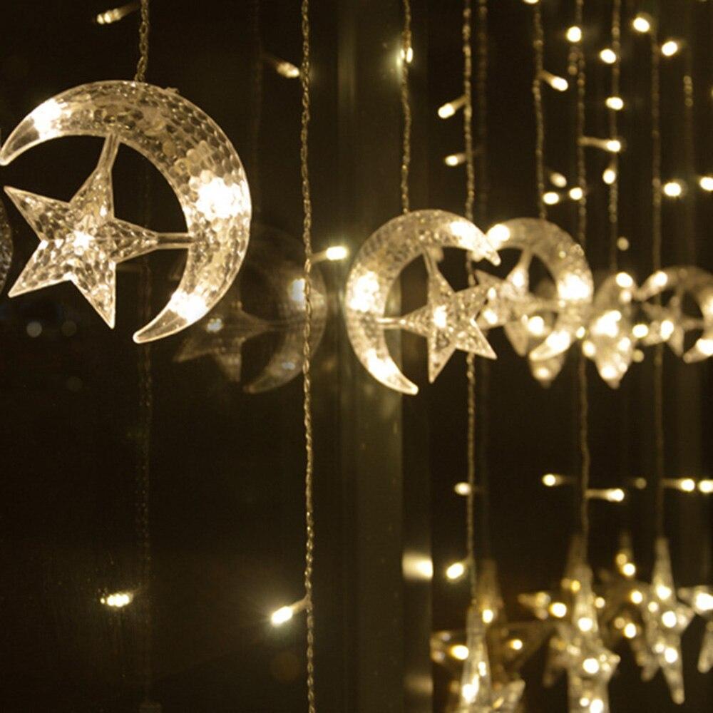 Mond Sterne Eis Led String Streifen Licht 138 Leds 250 Cm Lange