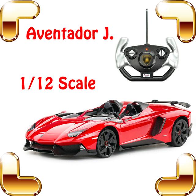 Nuevo Regalo de Año 1/12 Aventador J RC Coche de Deriva de Gran Carrera velocidad de Rastreo de Vehículo Eléctrico En Coche Juego de Carreras de Juguete Con Motor de Potencia