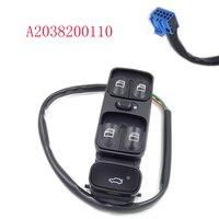 Power Control Window Switch For MERCEDES C CLASS W203 C180 C200 C220 A2038200110