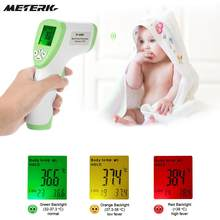 Digital Infrared Thermometer Multi-Function Non-contact Forehead Termometre Gun Body Temperature Measurement(China)