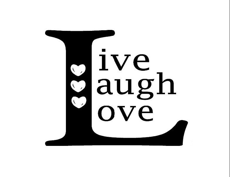 LIVE LAUGH LOVE SQUARE Family Country Design Vinyl Wall Room Decal - Vinyl stickers design