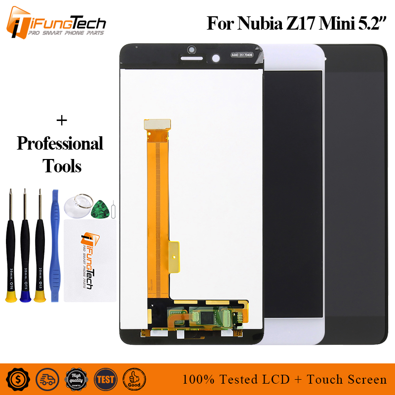 Original  For 5.2 ZTE Nubia Z17 Mini NX569J NX569H LCD Screen Display+Touch Panel Digitizer For Z17 Mini DisplayOriginal  For 5.2 ZTE Nubia Z17 Mini NX569J NX569H LCD Screen Display+Touch Panel Digitizer For Z17 Mini Display