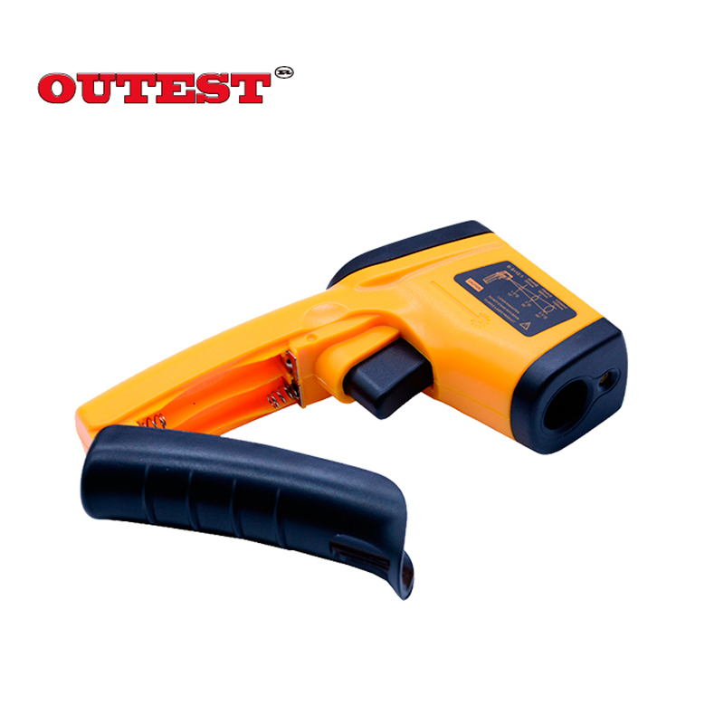 Infrared thermometer GM320 Non Contact Laser Gun Infrared  IR Thermometer LCD digital display  -50~380 degree 1pcs with skin box digital infrared ir thermometer laser temperature gun non contact 50 1 with lcd backlight gm1350 18 1350c 50 1
