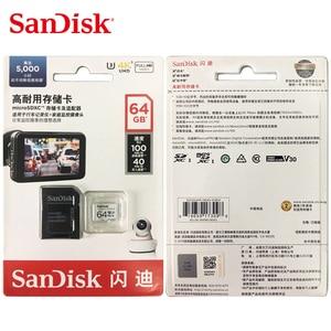 Image 5 - Sandisk Geheugenkaart Hoge Uithoudingsvermogen Video Monitoring 32Gb 64Gb Microsd kaart Sdhc/Sdxc Class10 40 Mb/s Tf kaart Voor Video Monitoring