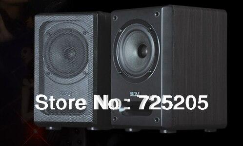 2.0 HIFI WirelessStereo Bluetooth Speaker Wooden Cabinet 2X25W Field-effect Tube Amplifier Multimedia Speaker 50W High Quality