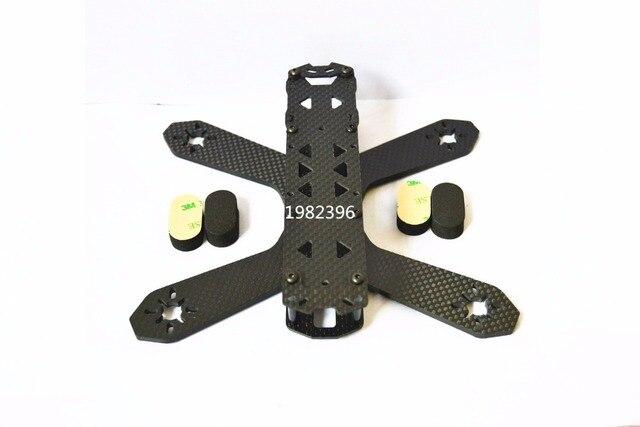 Mini Drone RD-180/210  180/210mm Carbon Fiber Frame FPV Cross Racing For 180/210 RD180/210 QAV180/210 Quadcopter + M3 Sponge Mat