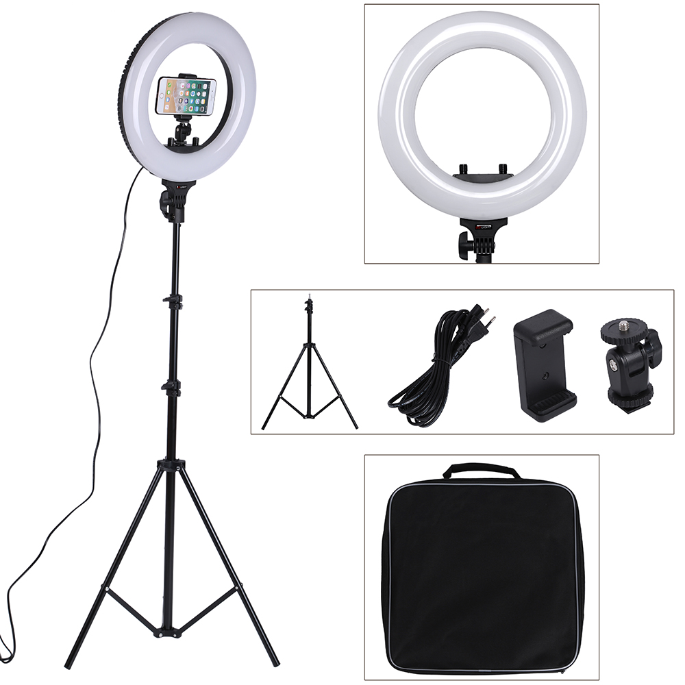 15 Inch Photo Studio lighting 40W 360PCS LED Ring Light 3200 5600k Photography Dimmable Ring Lamp