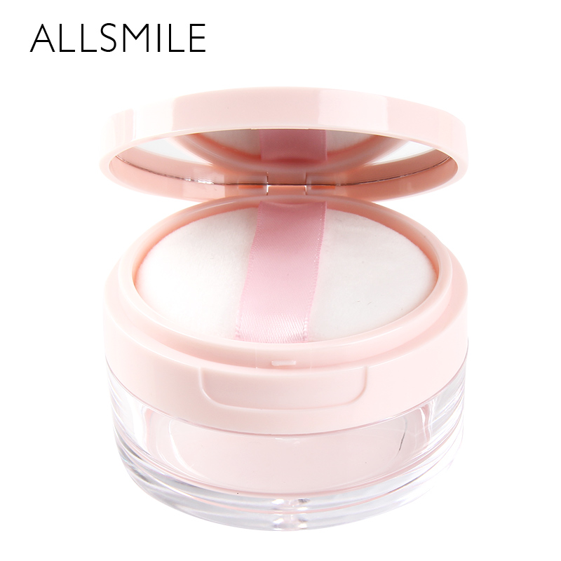 1 Set Maquiagem Make up Empty Loose Powder Jar With Sifter and Powder Puff Cosmetic Case Bottle Makeup Container Beauty Box 10pcs 5g cosmetic empty jar pot eyeshadow makeup face cream container bottle acrylic for creams skin care products makeup tool