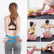 LOOZYKIT, оборудование для йоги, многофункциональное кольцо для йоги, пилатеса, тренировки, фитнеса, круг, тренировка, сопротивление, поддержка, инструмент для теленка, для дома
