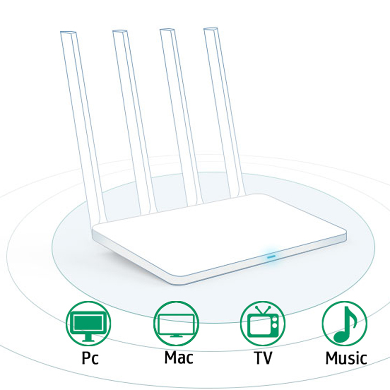 Xiaomi Wifi Extender English Version Router 3c Repeater 300mbps 2.4g Wireless Routers Repetidor Wi-fi Roteador