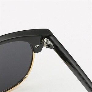 Image 4 - SWOKENCE reçete gözlük SPH  0.5 to  6.0 miyopi için erkek kadın moda polarize güneş gözlüğü ile diyoptri Shortsighted WP015