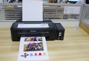 Image 1 - A5/A4 size Inkjet Print Magnetic Glossy Surface Photo Paper For Dye Desktop printer