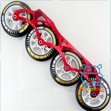 110mm 100mm 90mm 4 Wheels ROXA Inline Speed Racing Skating Frame with 165mm 180mm 195mm Mounting