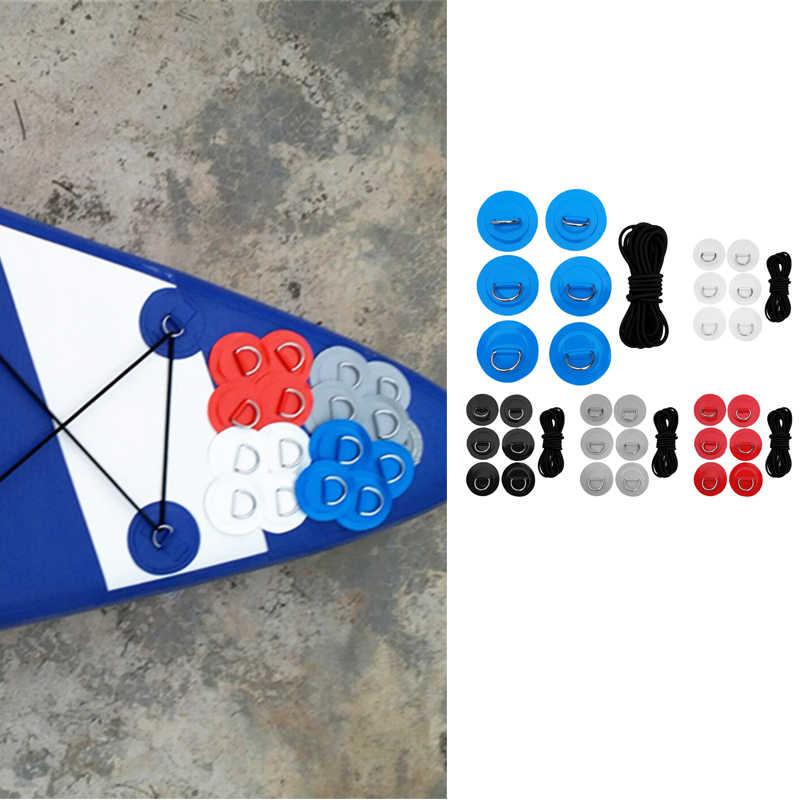 6 pièces tiennent le Kit de gréement de plate-forme de corde élastique de SUP de paddle-board