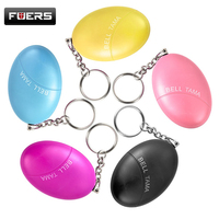 Egg Shape Self Defence Alarm Protect Women Girl Alarm Security Alarm Wallet Key Keychain Alarm System