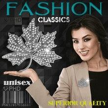 PHD Rhinestone brooches for women Flowers elegant Crystal bloem luxury men brooch jewelry Gold plating zircon