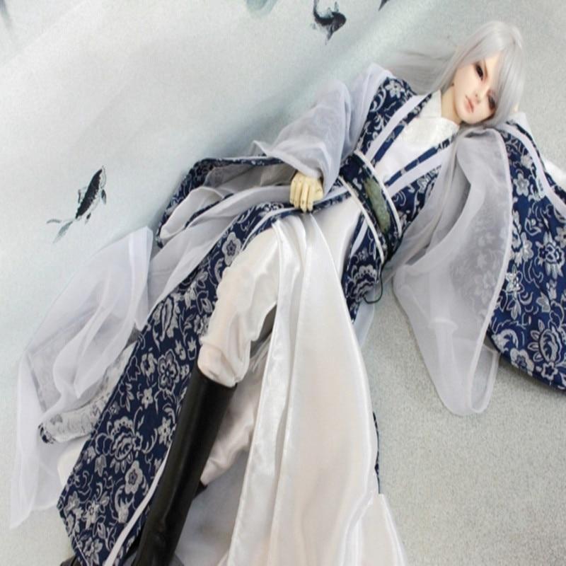 Vestito di BJD bjd cina abiti antichi 1/4 1/3 BJD zio 70 cm-in Accessori per bambole da Giocattoli e hobby su  Gruppo 1