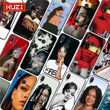 Rihanna Anti Sexy Pop Star Robyn Rihanna Fenty Soft Silicone Phone Case for xiaomi redmi note 7 k20 pro 7 note 5 6 4x 7a(China)