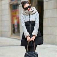 Women S Winter Jackets New Warm Parka Women Jackets Hooded Coat Lamb Wool Cloak Padded Cotton