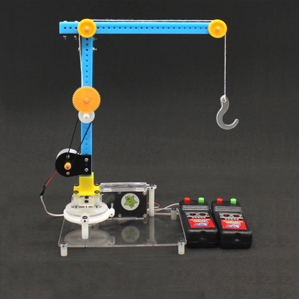 Обучающие игрушки «сделай сам» для детей, комплект кранов с дистанционным управлением, Забавный физический эксперимент, подарок на день ро...