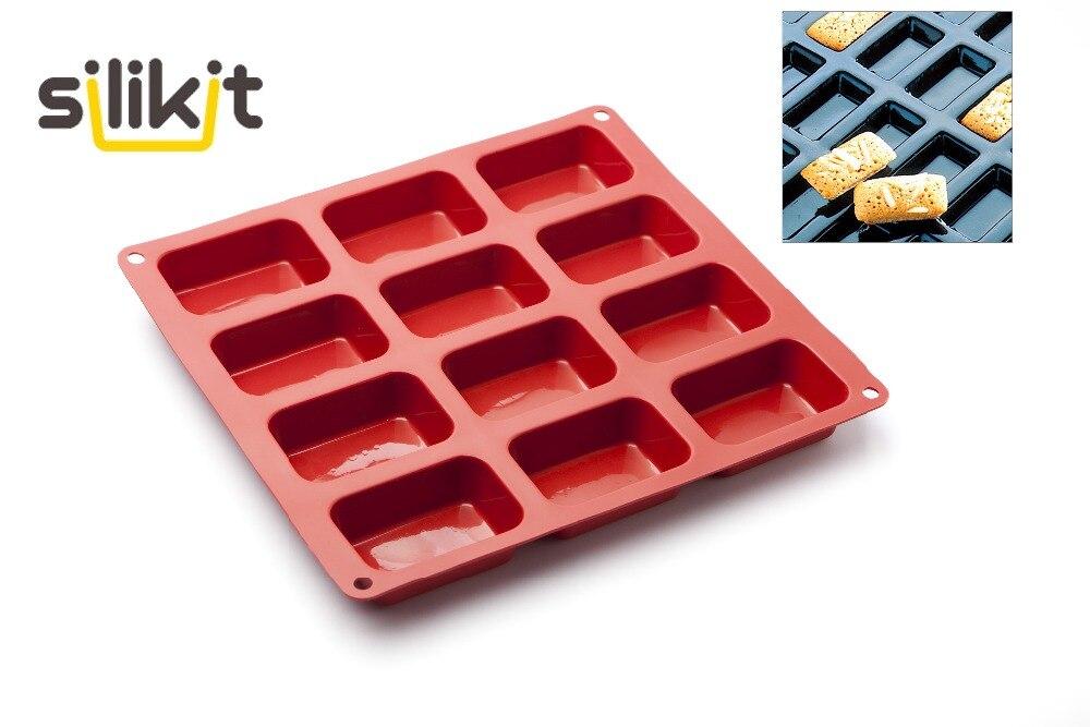gratis frakt 12 hulrom 3D håndlagde rektangel firkant finansfolk - Kjøkken, spisestue og bar