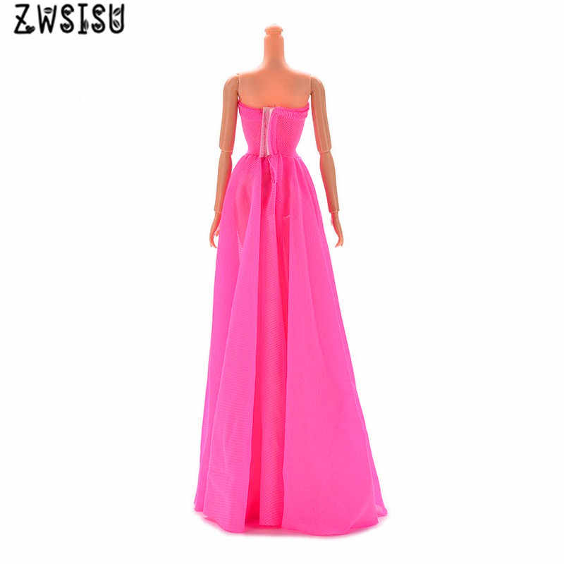 370c32c35a056 Beautiful Handmade Fashion Clothes Dress For mini Doll Clothes Gown For  doll dresses