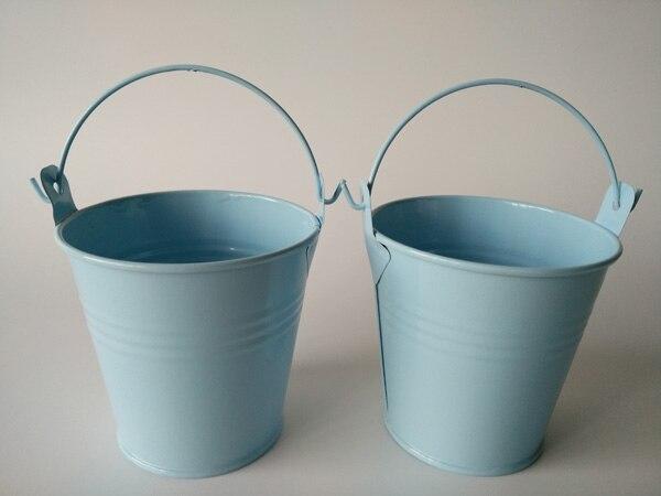 20Pcs Lot D7 5 H7 5CM Blue Flower pots Planter garden bucket  Compare  Prices on. Garden Flower Tubs Planters