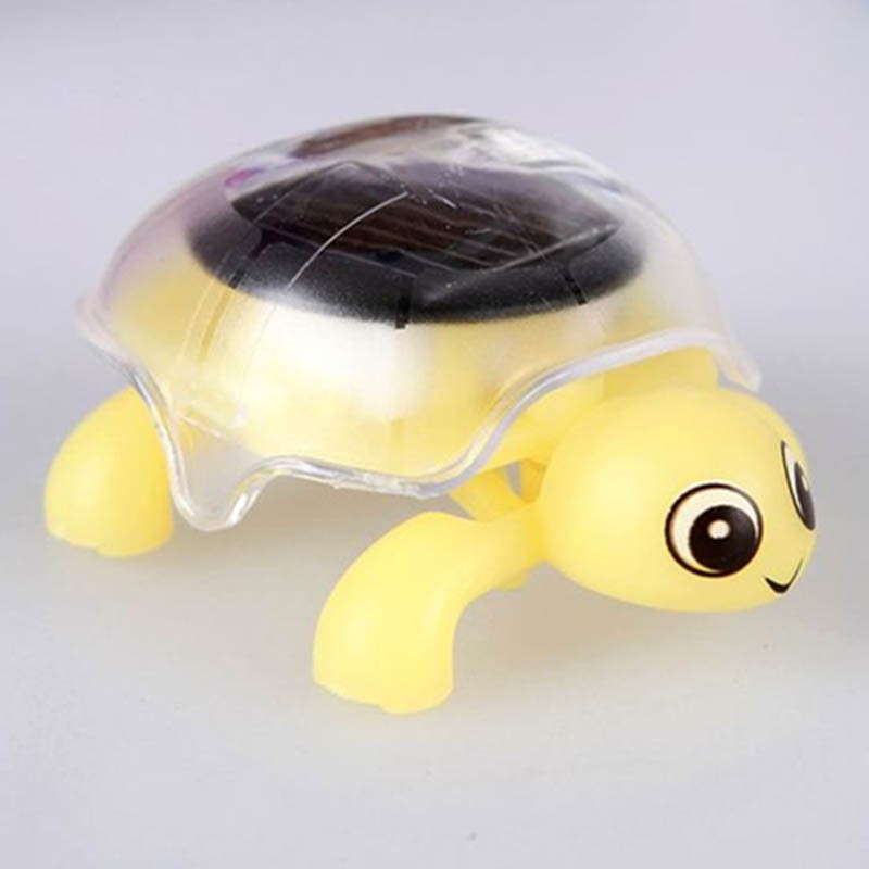 Mini Solar Powered Energy Move Turtle Cute Tortoise Gadget Gift Educational Toy For Kids Gifts
