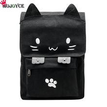 Новый Лидер продаж Для женщин Кот уха сумка рюкзак школьный холст Рюкзаки Дорожные Сумки животных Печать Рюкзак
