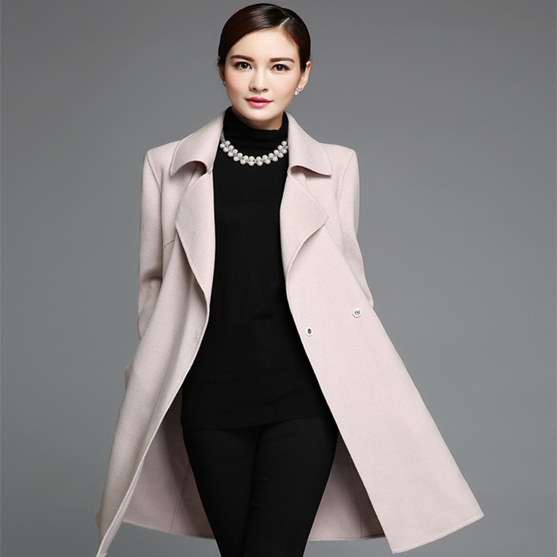 Long Ladies Winter Coats 2015 New Style Europe Fashion Women ...
