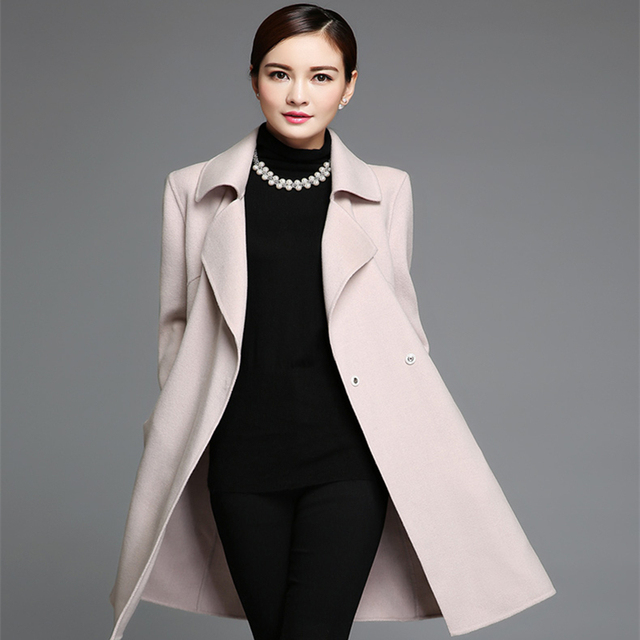 Aliexpress.com : Buy Long Ladies Winter Coats 2015 New Style ...