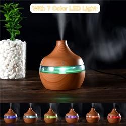 Super cichy nawilżacz powietrza ultradźwiękowy Ultra fine aromaterapia Mist Maker OLEJEK ETERYCZNY dyfuzor 7 kolory zjawiskowy światła LED P49|Nawilżacze powietrza|AGD -