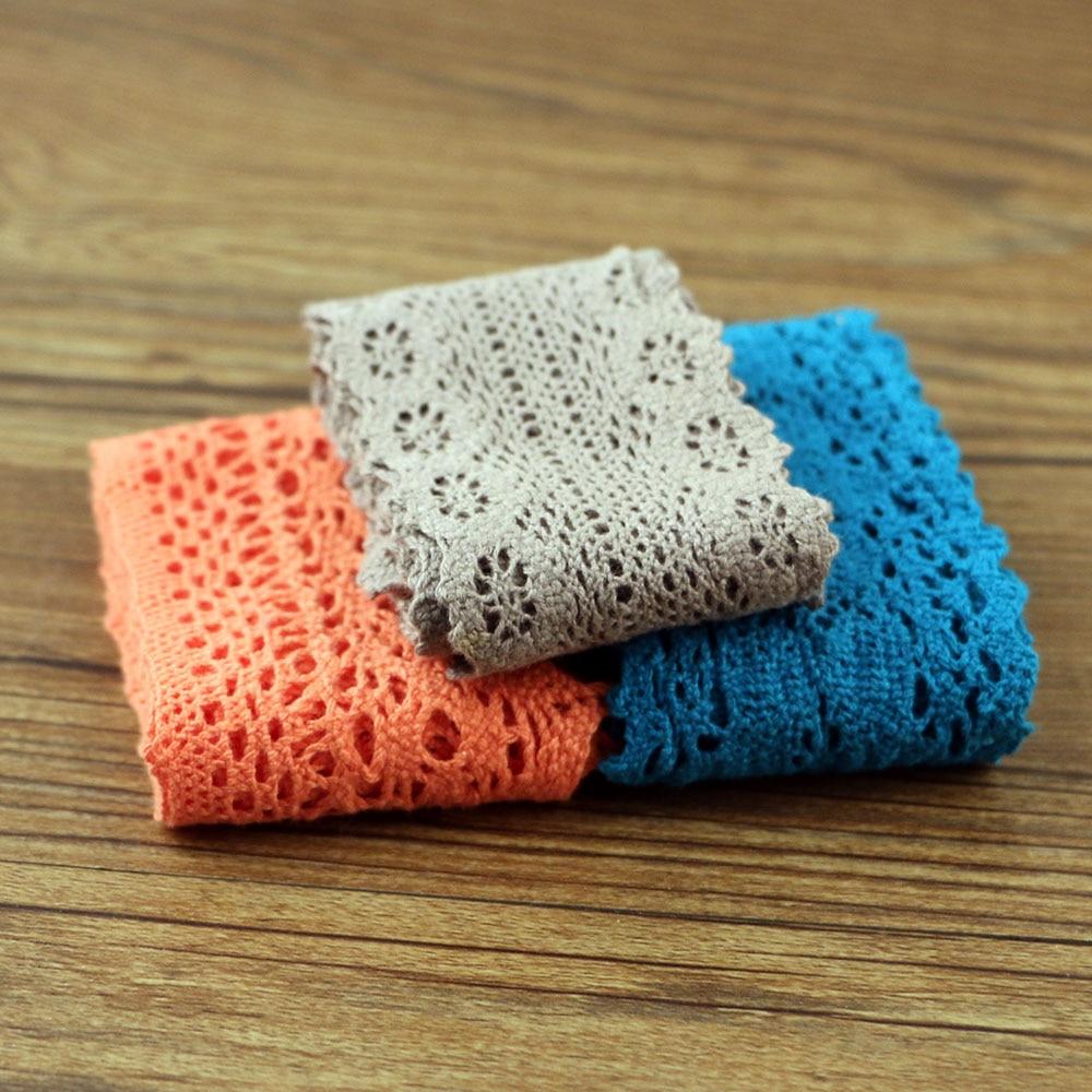 1 ярд хлопковой кружевной ткани «сделай сам», хлопковый Плетеный кружевной пояс, декоративная ткань, материал: хлопок