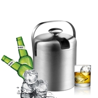 Bpa Free 1 3L Double Wall Champagne Keg Double Wall Food Grade Stainless Steel Ice Bucket
