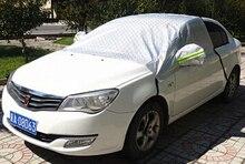 3D Бесшовные Анти-УФ Пыль Дождь Снег Устойчив Половина Покрытие Автомобиля Для Авто Салон, хэтчбек, ВНЕДОРОЖНИК(China (Mainland))