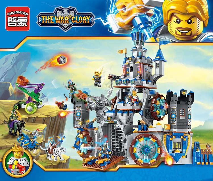 New Model building kits compatible with lego Battle of glory series 2317 1541pcs 3D blocks Educational toys hobbies for children