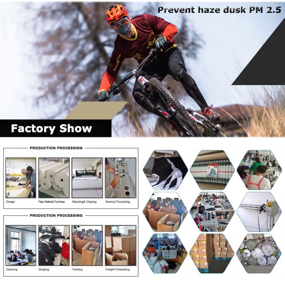 Activated Carbon Filters Dustproof Anti Pollution Exhaust Gas PM2.5 Match Tactical Cycling Mask for Home Outdoor Bisiklet Maskes Home outdoor bisiklet maskes | anti pm2.5 outdoor bisiklet maskes