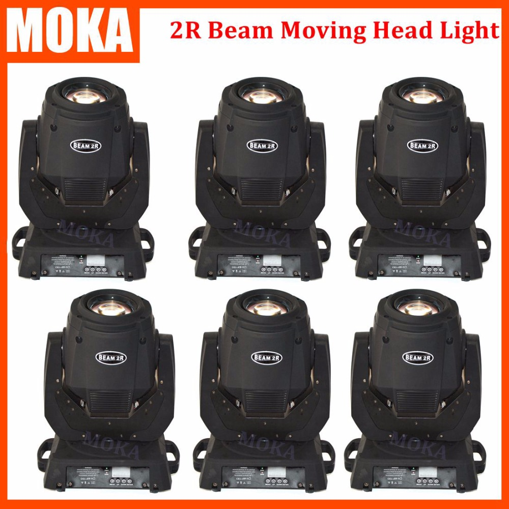 6 pcs/lot China mini moving head beam 132W sharpy 2r beam moving head dj lighting stage light effect moving head spot free shipping 6pcs lot 120w moving head light sharpy beam 2r led lights dj disco club party wedding stage effect