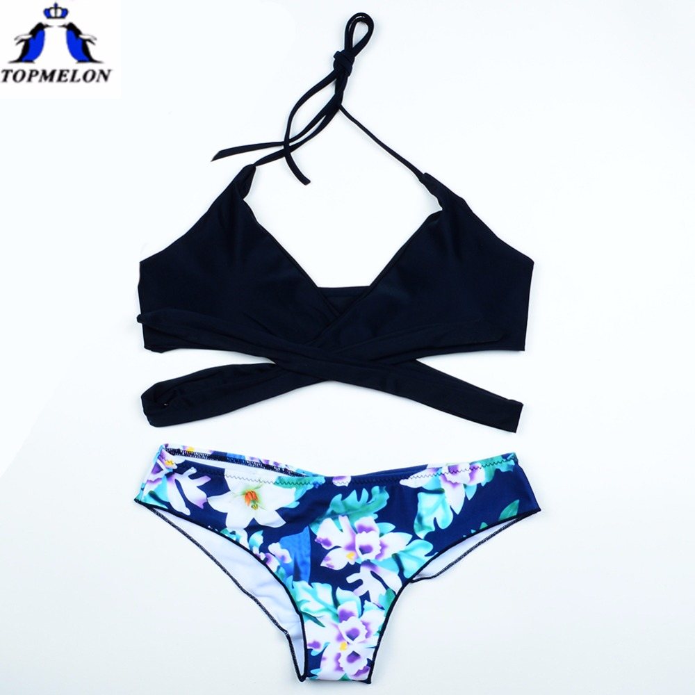 BIKINIS Swimwear swimsuit Women Bikini Set Halter Beach Floral Biquini Push up Bathing suit female swimming suit Sexy bikini bikinis swimwear swimsuit women bikini set halter beach floral biquini push up bathing suit female swimming suit sexy bikini