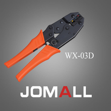 Купить с кэшбэком WX-03D crimping tool crimping plier 2 multi tool tools hands Ratchet Crimping Plier (European Style)