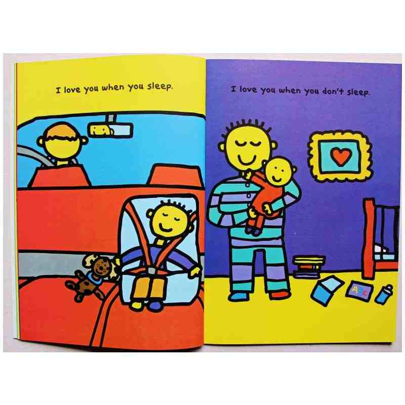 The I LOVE YOU Book By Todd Parr Educational English Picture Book Learning  Card Story Book For Baby Kids Children Gifts